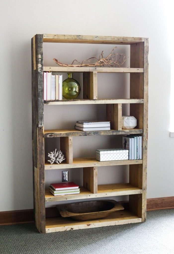 meuble en palette source pinterest
