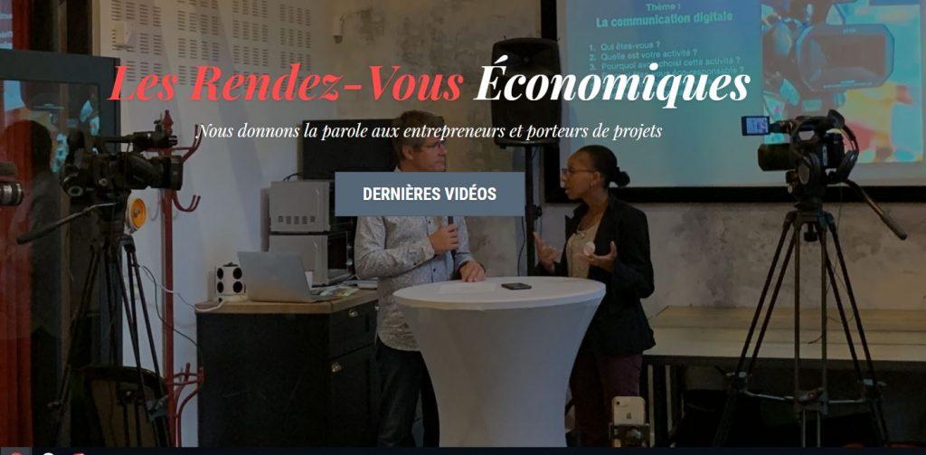 Les rendez-vous économiques Frédéric TABARY ( designer Nantes ) en devient le parrain