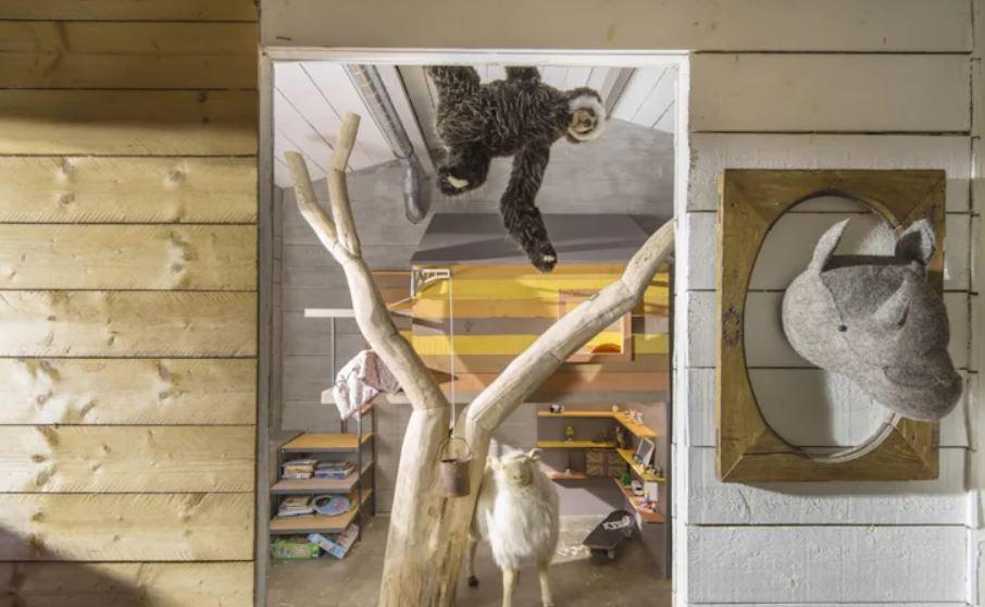 La cabane de Toane, cabane, concept, bois, designer, designer produit, architecte, Frédéric TABARY, arbre, enfant, jeu, amusement, design, matériaux, écologique, TABARY, matériau, design, espace, enfants, mobile pour les enfants, arbre,