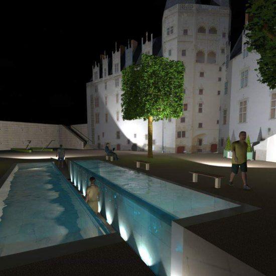 Le passage fontaine