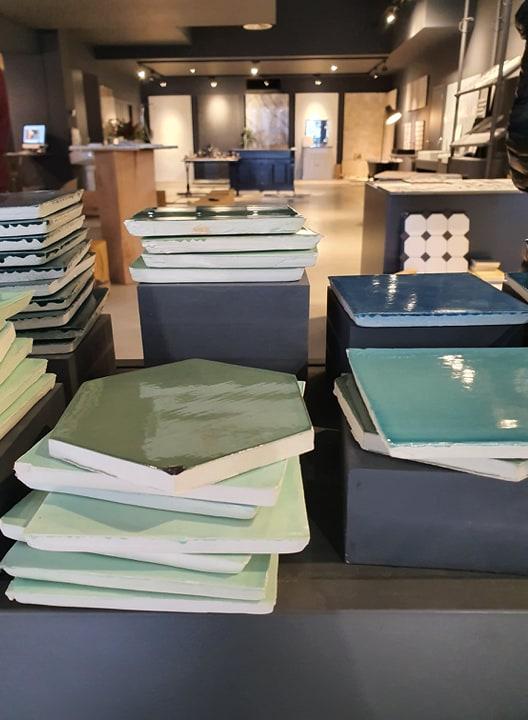 Show Room des carrelages du Marais Designé par Frédéric TABARY Désigner à Nantes Angers Paris... et Bruxelles
