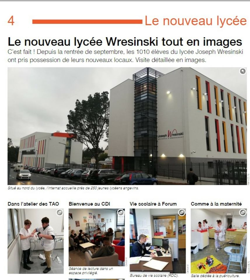 le Lycée wresinski en images