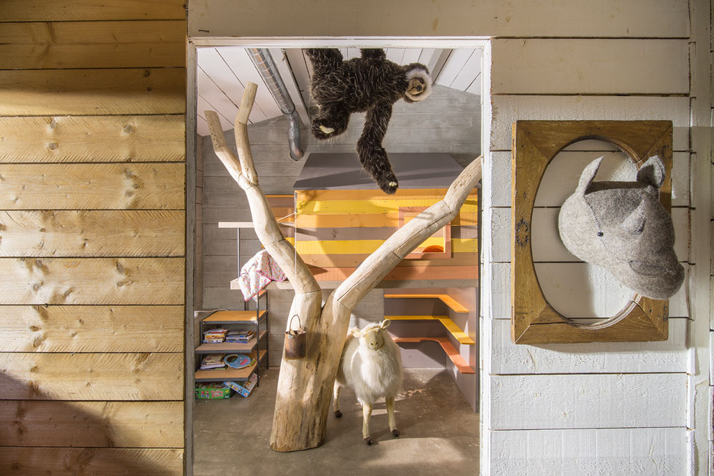 La cabane de Toane : une chambre d'enfant insolite.