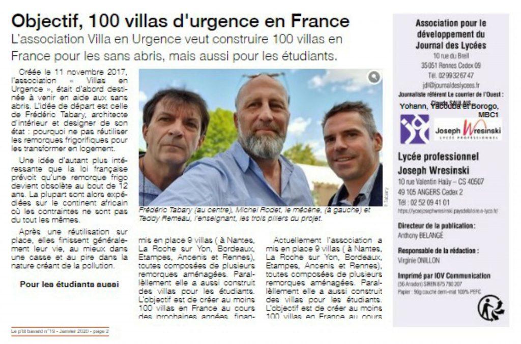 Présentation de notre projet à Emmanuel Macron le 10 septembre à Bonneuil sur Marne en présence du représentant du lycée Wresinski.