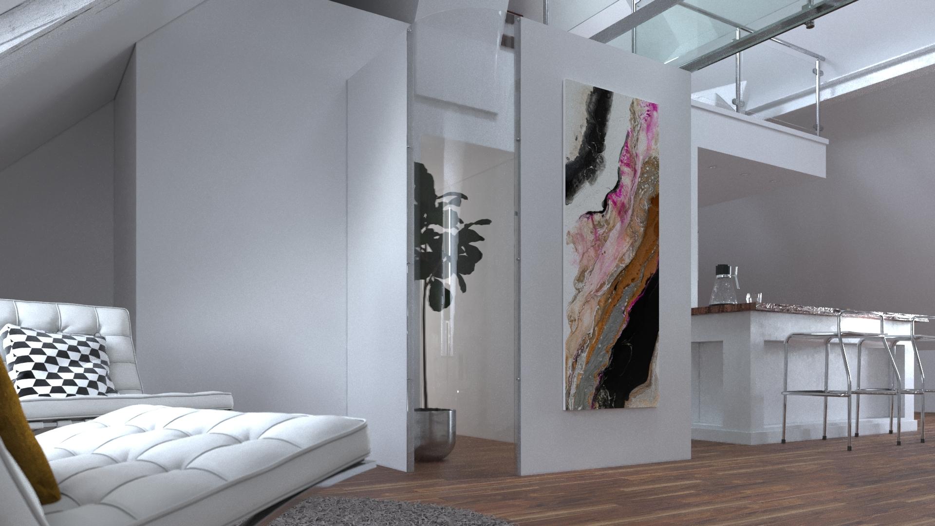 Le corner plexi Pour arrondir vos angles de murs et agrandir l'espace