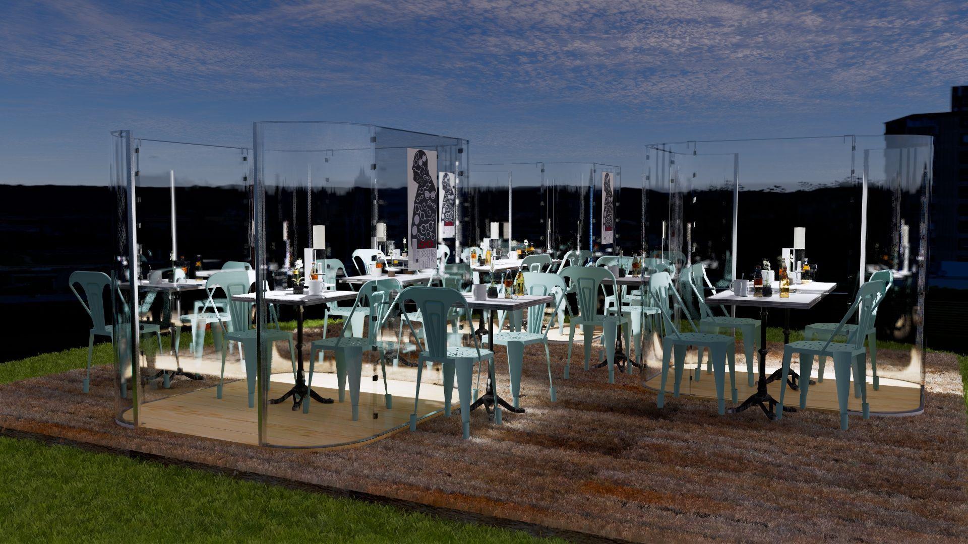plexi-corner-solution-innovante-reouverture-bars-restaurants-cafés