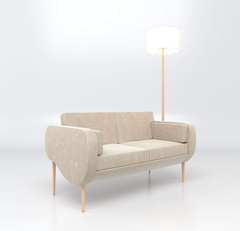 Les illuminés canapés Design Frédéric TABARY