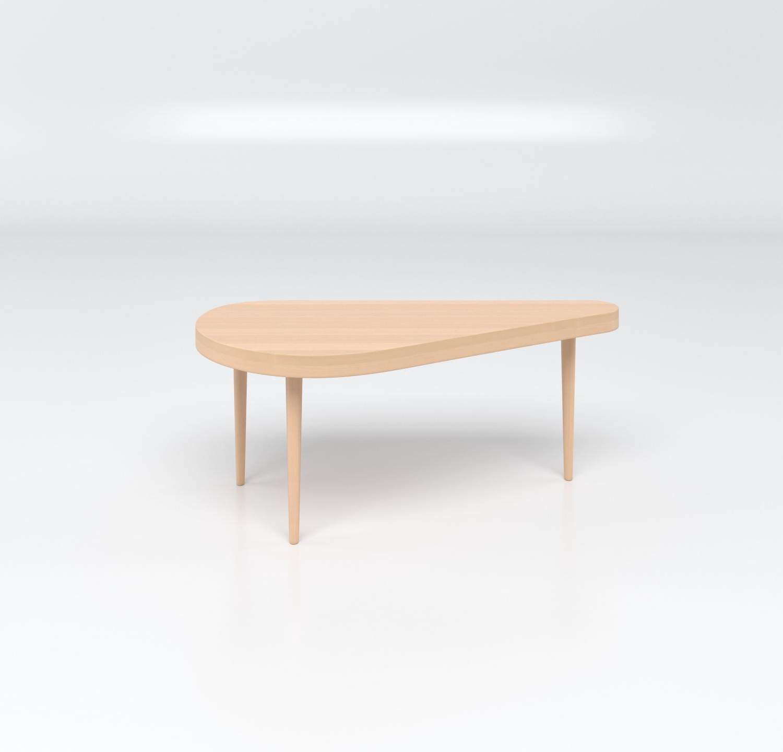 Petite table basse pour accompagner les illuminés Canapés